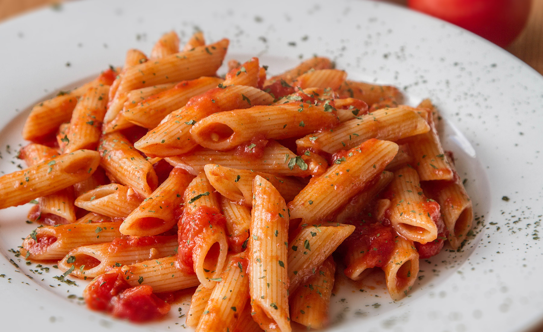 Penne all' arrabiatta